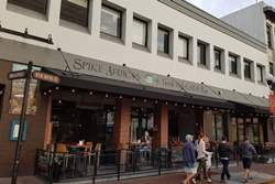 Spike Africa's, dog friendly San Diego Restaurants, pet friendly places to eat in San Diego